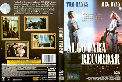 Algo para recordar | 1993 | Sleepless in Seattle, carátula, cover, dvd