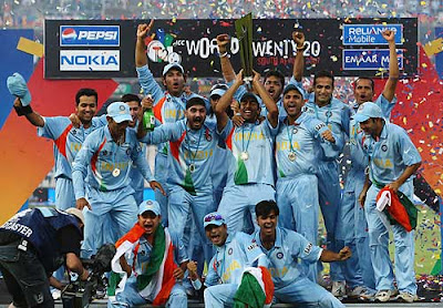 Indian Team ICC T20 Champion 2007
