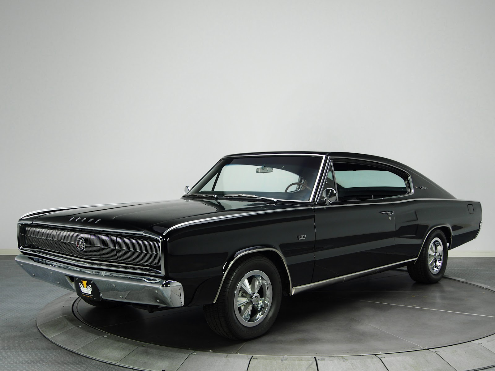 Retro Cars: Dodge Charger 383 '1966