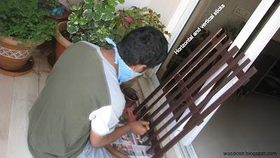 Baby proof picket fence - Work in progress