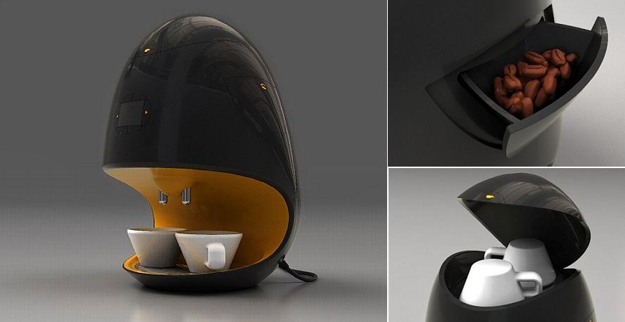 15 Creative Coffee Makers and Modern Coffee Machine Designs.