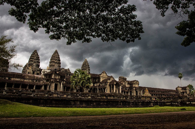 Storms over Angkor Wat