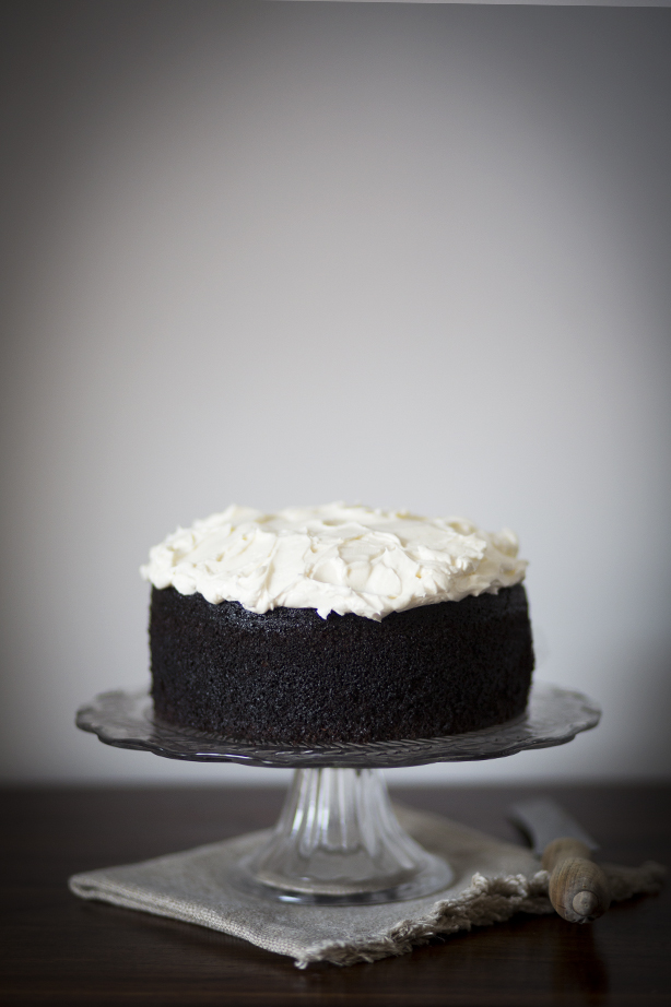 Chocolate Guinness Cake via Breakfast by the Sea Blog