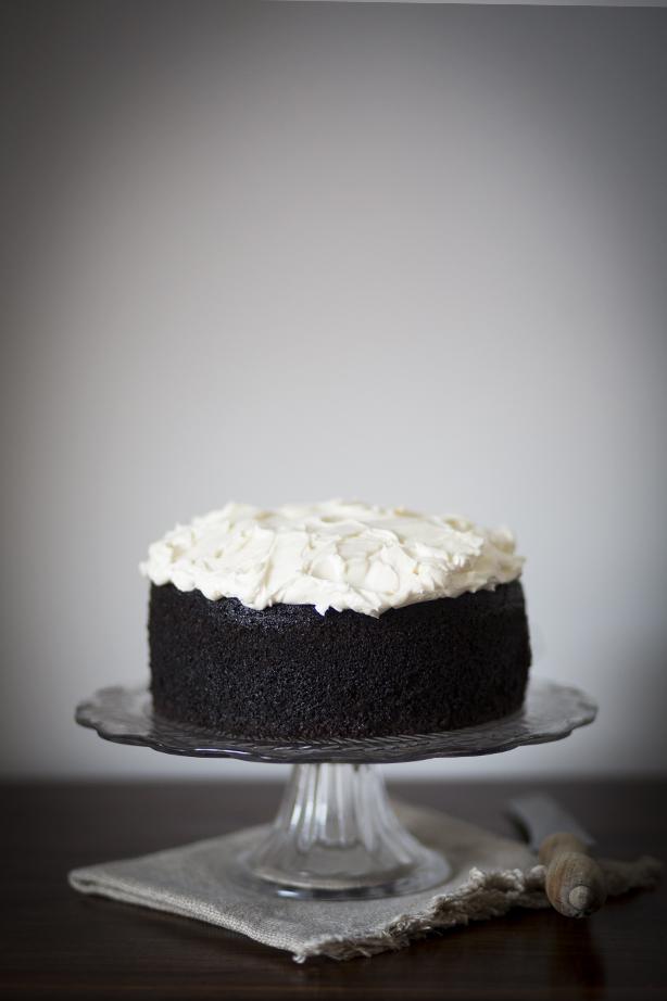 Chocolate Guinness Cake via Breakfast by the Sea Blog