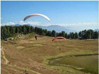 Paragliding at Sanasar Valley
