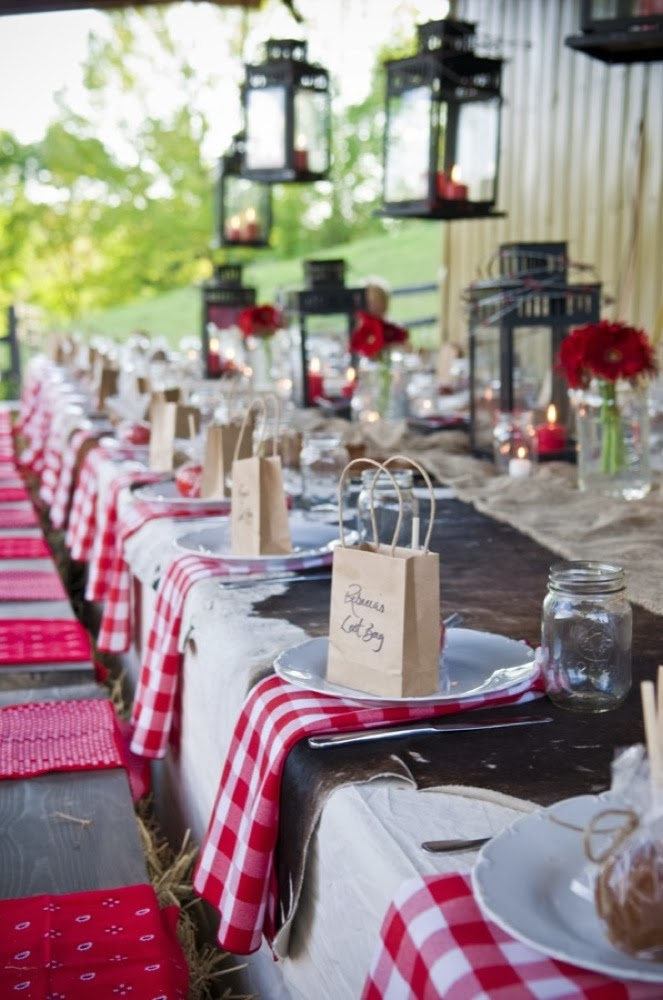 Memorable Wedding: Easy Country Western Wedding Theme Ideas