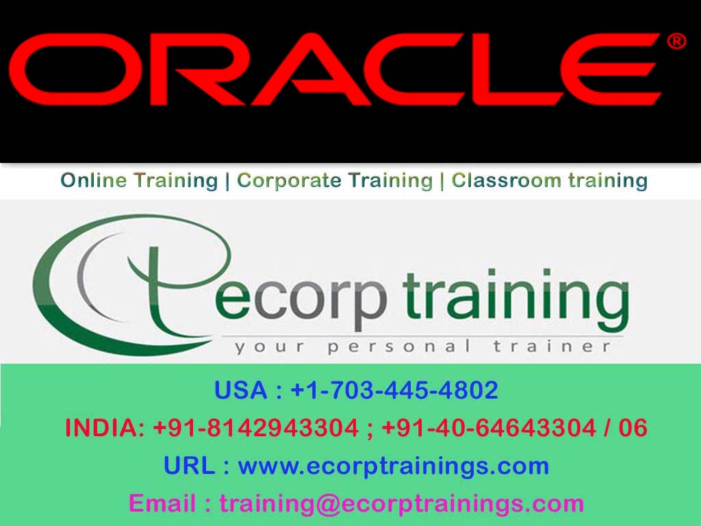 Oracle Apps R12 Project Accounting Online Training Oracle Apps