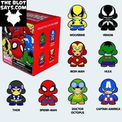 Marvel DIY Micro Munny Blind Box Series by Kidrobot