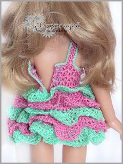 одежда +для кукол крючком