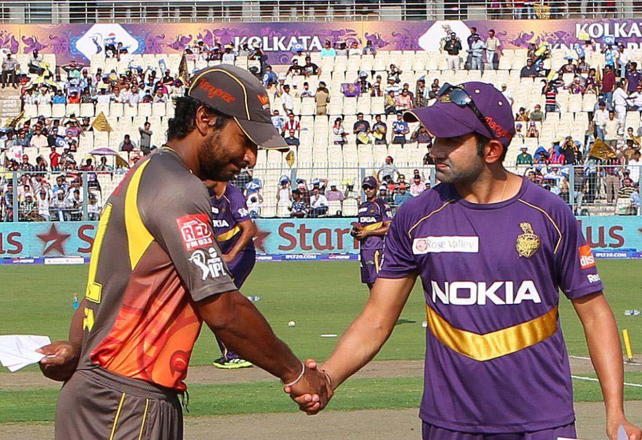 Kumar-Sangakkara-Gautam-Gambhir-KKR-vs-SRH-IPL-2013