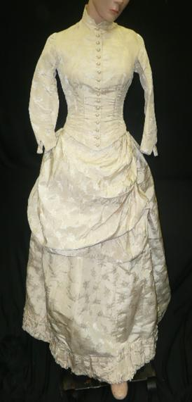 all the pretty dresses 1880s wedding gown