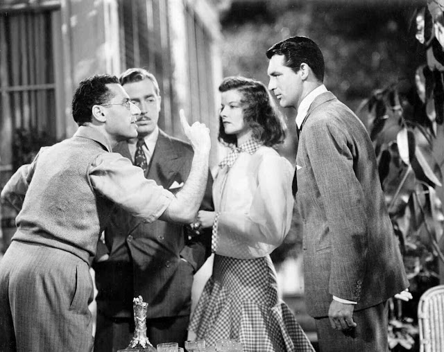 The philadelphia story cary grant katherine hepburn for Cary grant first movie