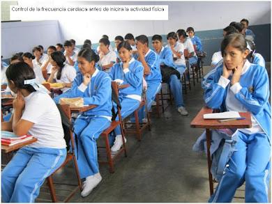 MI CLASE DE EDUCACIÓN FÍSICA