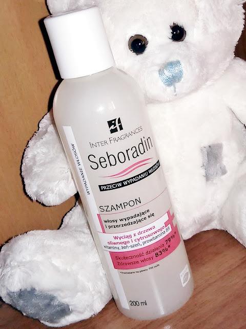 szampon Seboradin przeciw wypadaniu włosów