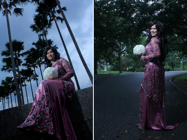 outdoor photoshoot hafizuddin & faraziana 5