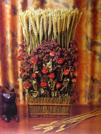 C mo decorar con flores secas composici n - Flores secas para decorar ...