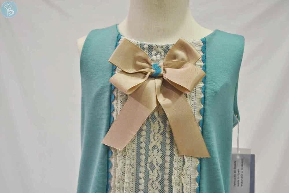 Vestido veraniego Babiné en Tienda y blog Retamal moda infantil