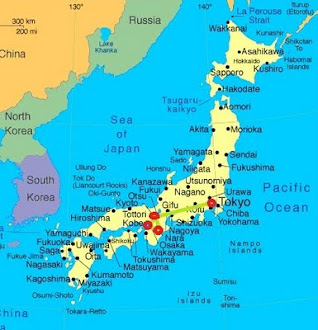Japan Route Map
