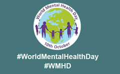 Thoughts on World Mental Health Day - the Vicar's Blog - Please click on picture to read