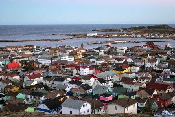 Big Blue 1840-1940: St. Pierre and Miquelon