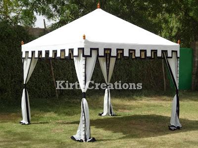 Aesthetic Handmade Tent
