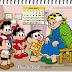 Datas comemorativas do mês de Julho com a Turma da Mônica
