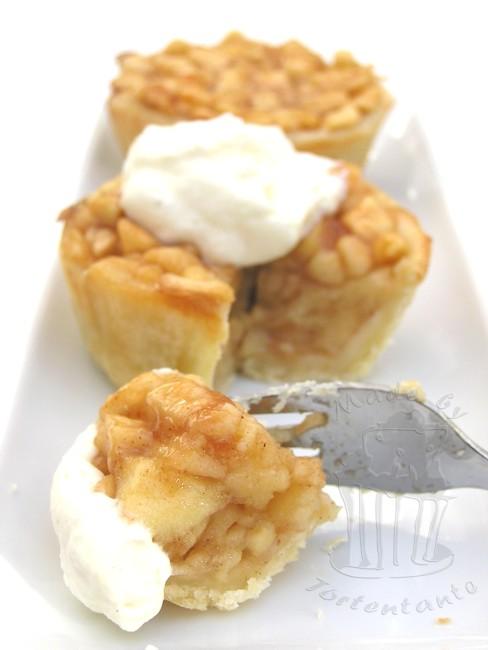 Apfelkuchen Apfeltörtchen apple cake muffin Apfelküchlein backen