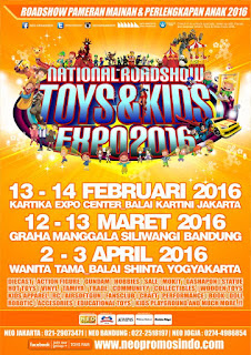 NEXT WEEK!! National Roadshow TOYS & KIDS EXPO 2016