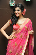 Adah Sharma Gorgeous in Pink Saree-thumbnail-13