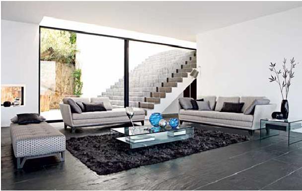 Decorando dormitorios salas contemporaneas modernas for Diseno de oficinas contemporaneas