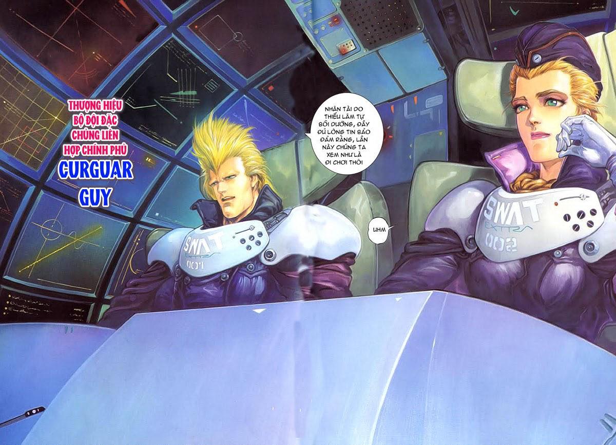 Cyber Weapon Z - Siêu Thần Z chap 4 - Trang 18