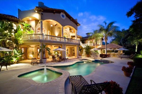 Mediterranean Nice Style home