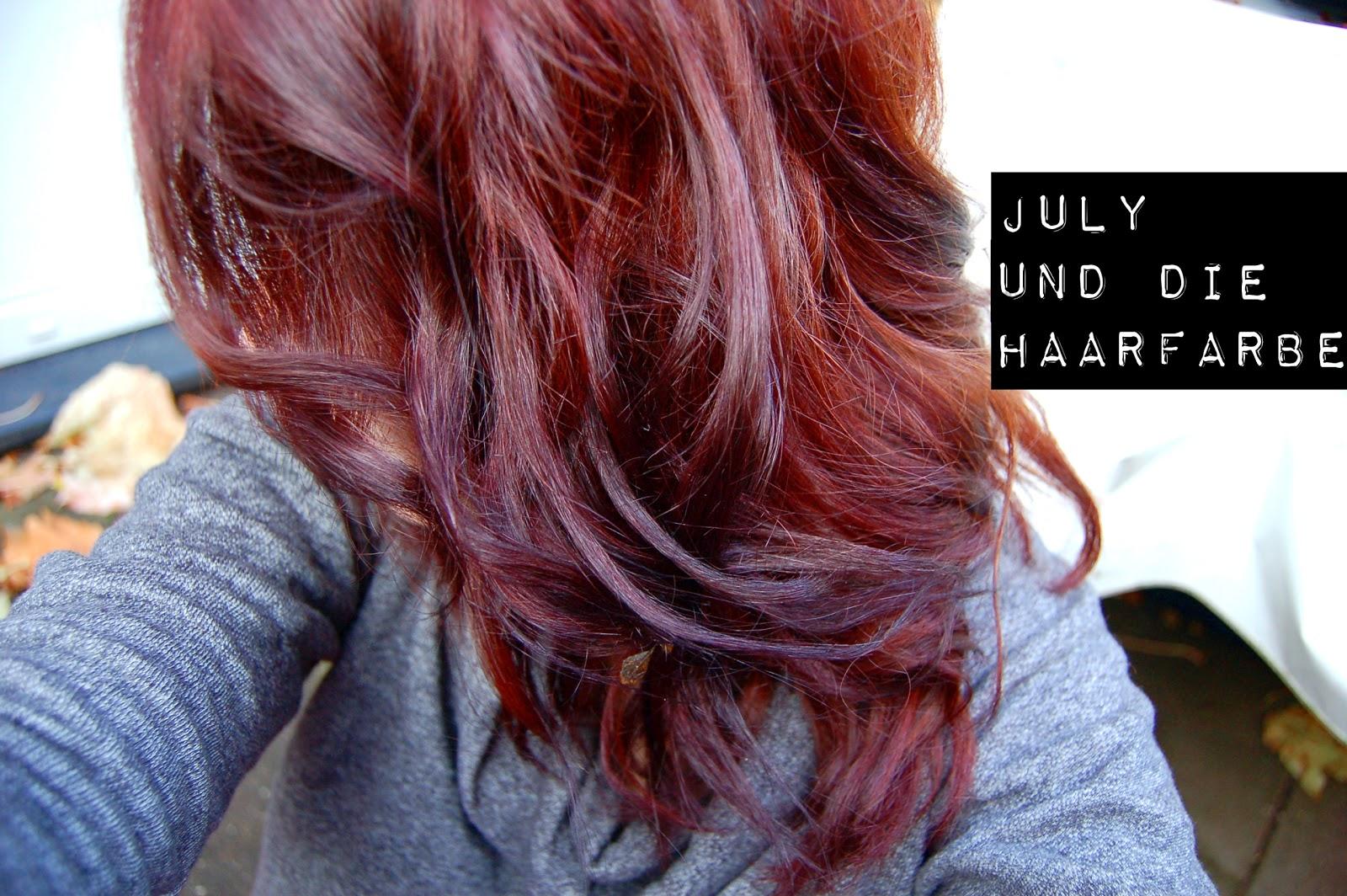 Einmal Farbe für die Haare, bitte! ~ Julys süße Versuchung