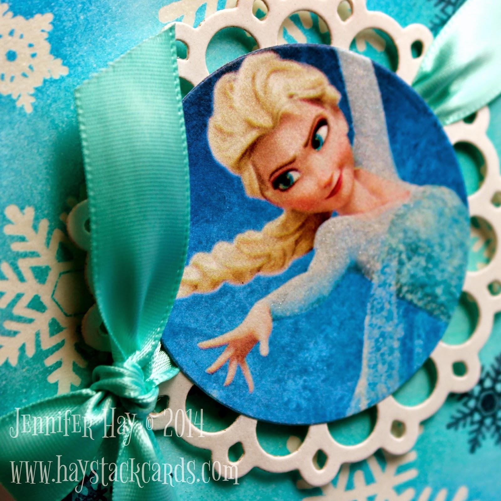 Frozen Birthday Greeting