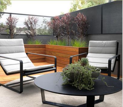 Fotos de terrazas terrazas y jardines terraza de casas for Diseno de jardines minimalistas para casas