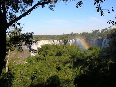 Selva misionera y Cataratas del Iguazú, vistas desde el circuito superior
