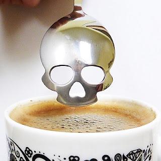 Cucharilla de Café Calavera