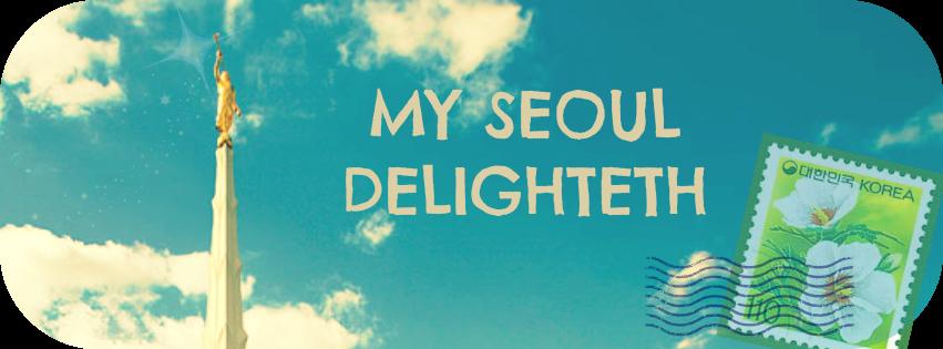 My Seoul Delighteth