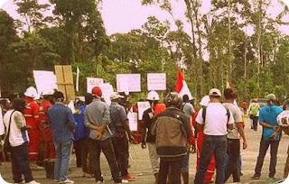 Pekerja PT Redpath Indonesia akan Temui Presiden Joko Widodo