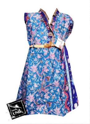 Model Baju Batik Anak Perempuan 10