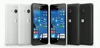 Lumia 550 Smartphone Windows 10 Dengan Harga Paling Murah