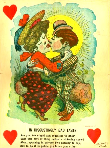Awful Vintage Valentines Day Cards I Hate You Vintage