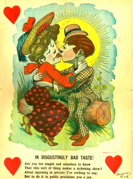 vintage everyday Awful Vintage Valentines Day Cards I Hate You – Vintage Valentine Day Cards