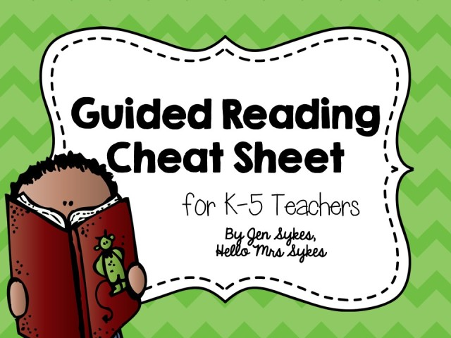 http://www.teacherspayteachers.com/Product/Guided-Reading-Guide-for-Grades-K-5-Cheat-Sheet-214337