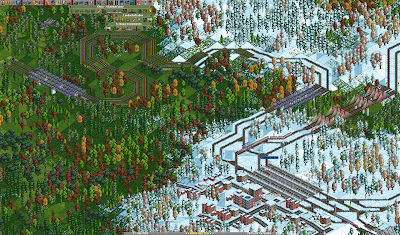 Transport Tycoon - Mapa del TT Deluxe