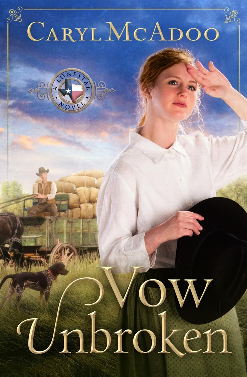 http://www.amazon.com/Vow-Unbroken-Novel-Caryl-McAdoo/dp/1476735514/