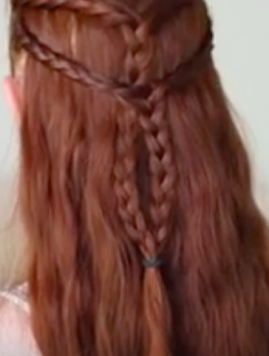 Game of Thrones Daenerys in Qarth Hairstyle Tutorial