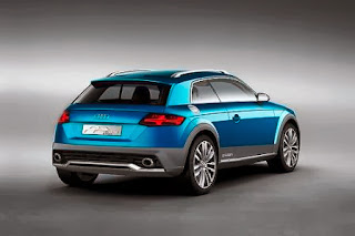Audi Allroad Shooting Brake Rearview