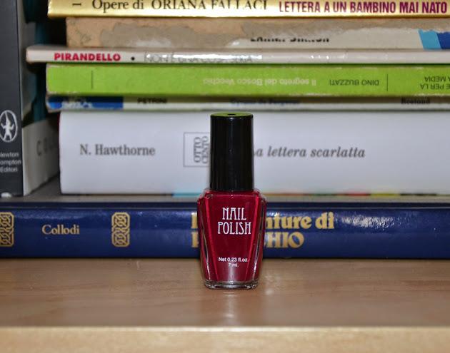 NOTD: H&M Cherry