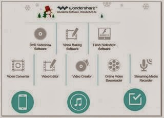 Wondershare all in one software suite